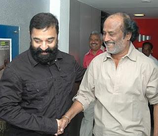 Kamal Hassan and Rajnikanth for Dashavatharam preview
