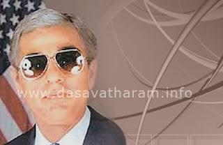 Kamal as George Bush