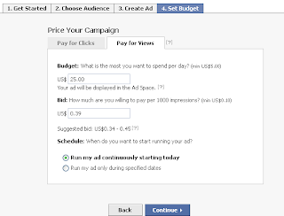 Setting Facebook Ad Budget