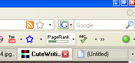 Google Toolbar on Firefox