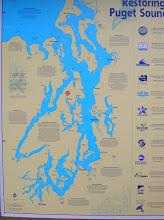 Localizacion de Seattle y Poulsbo