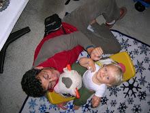 Jugando con baby Jacob
