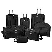 4878a0da1007f Is all I can say. Check this out...Sears Deal of the Day is the American  Tourister 7 Piece Set Black for  59.99 (Regular  239.99)! I ve received  luggage ...
