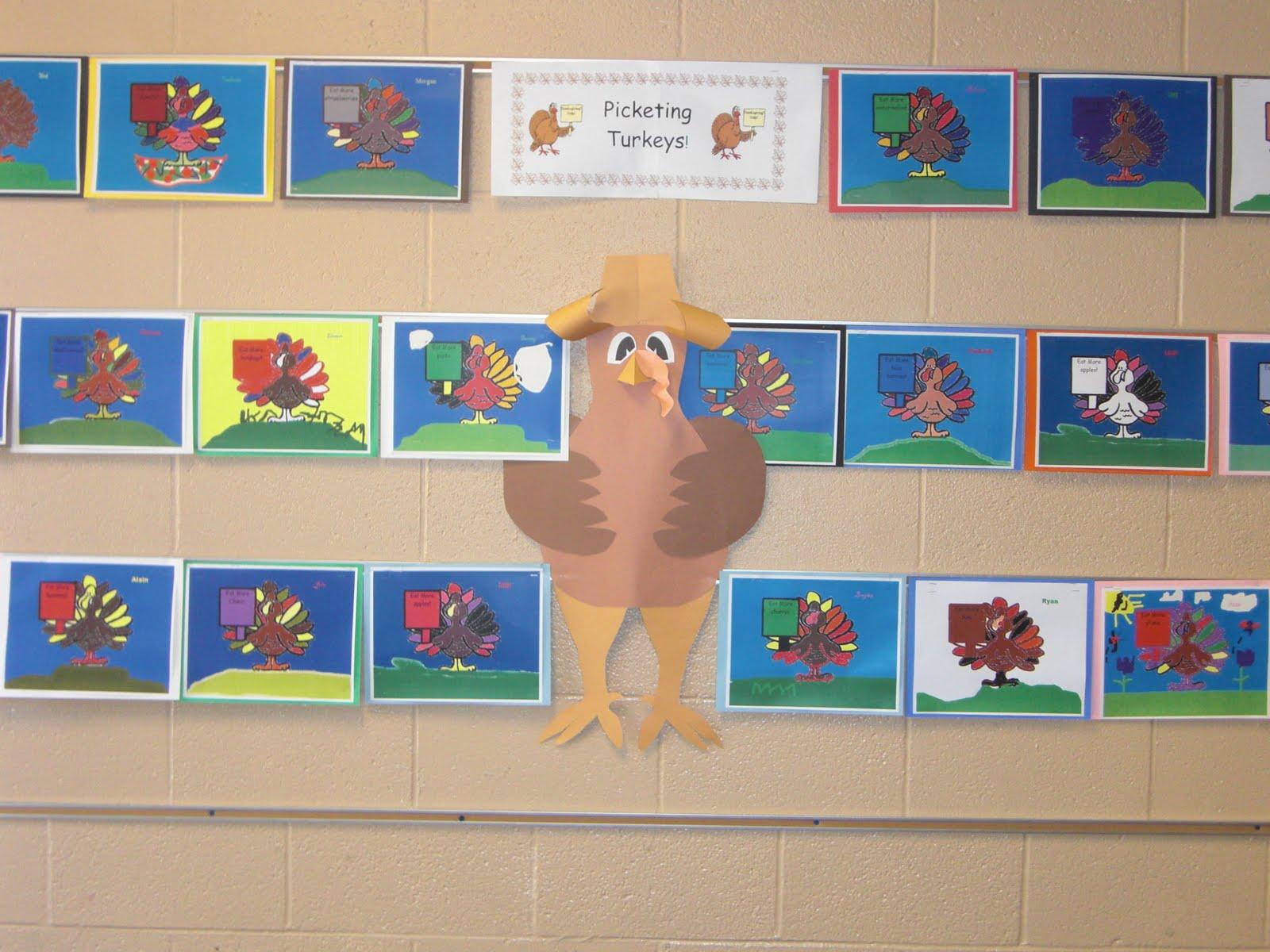 K 5 Technology Lessons Picketing Turkeys