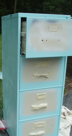 Passionate Quilter: File Cabinet Redo