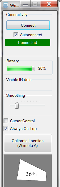 Hidden Ramblings: Wiimote Whiteboard with Windows x64 support