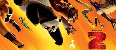 Bande annonce de Kung Fu Panda 2 pour le Super Bowl