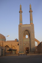 Yazd, Jame mosque, November 2007