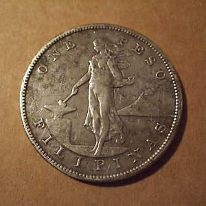 1906 S One Peso Coin Us Philippine Series
