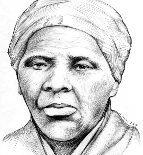 Sketch of the Day: Harriet Tubman