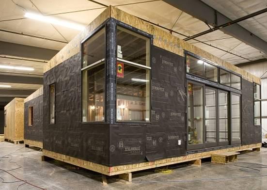 Arquitectura de casas caba a ecol gica prefabricada - Casas prefabricadas por modulos ...