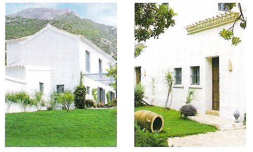 Arquitectura rural en Costa del Sol, Andalucía