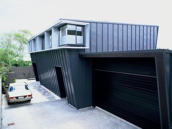 Volumen de una residencia contemporánea en Nueva Zelanda
