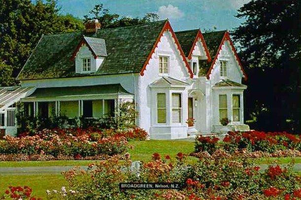 Casa de adobe en Nueva Zelanda