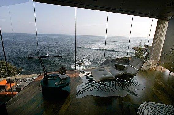 Casa en La Jolla al borde del mar