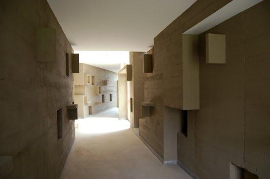 Interior bajo tierra