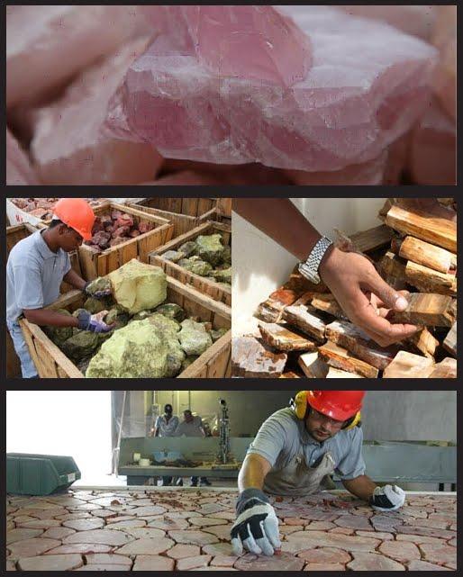 Proceso de fabricación de encimeras
