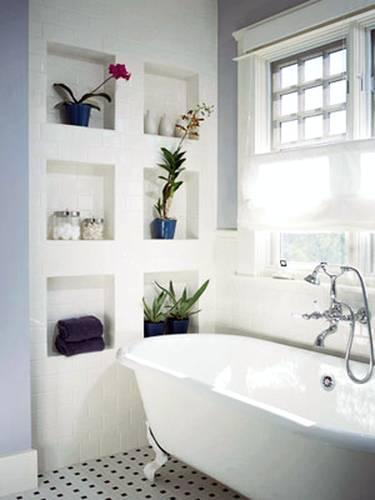 Baño De Tina Con Hierbas:Bathroom Wall Decorating Ideas