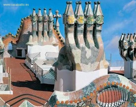 Casa Batllo techos