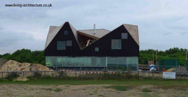 Casa de playa arquitectura moderna