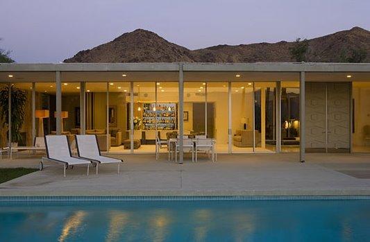 Casa modernista Mid Century