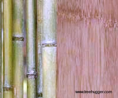 Bambú para hacer cubiertas de pisos