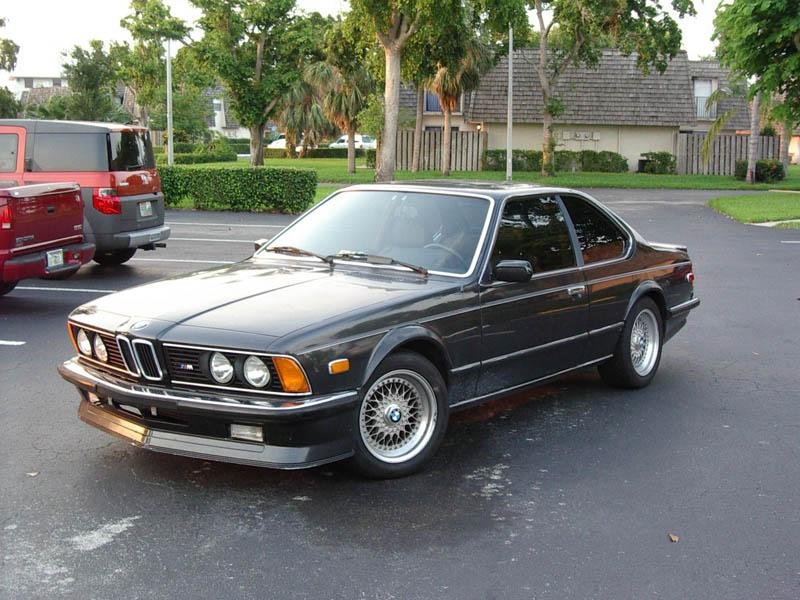 BMW 635CSI for Sale: 1985 635CSi