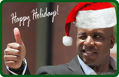 Holiday greetings from Barry Bonds