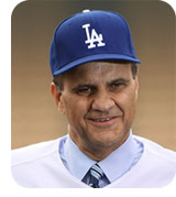 Joe Torre looks handsome in blue