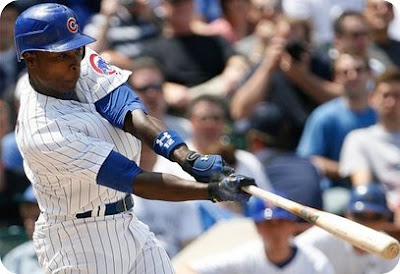 Soriano has finally busted out of his April slump.