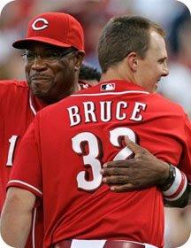 'Hug me, Jay Bruce'