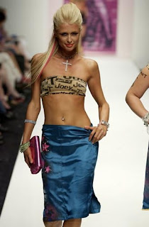Paris Hilton Ramp Walk Photo Free desktop wallpaper