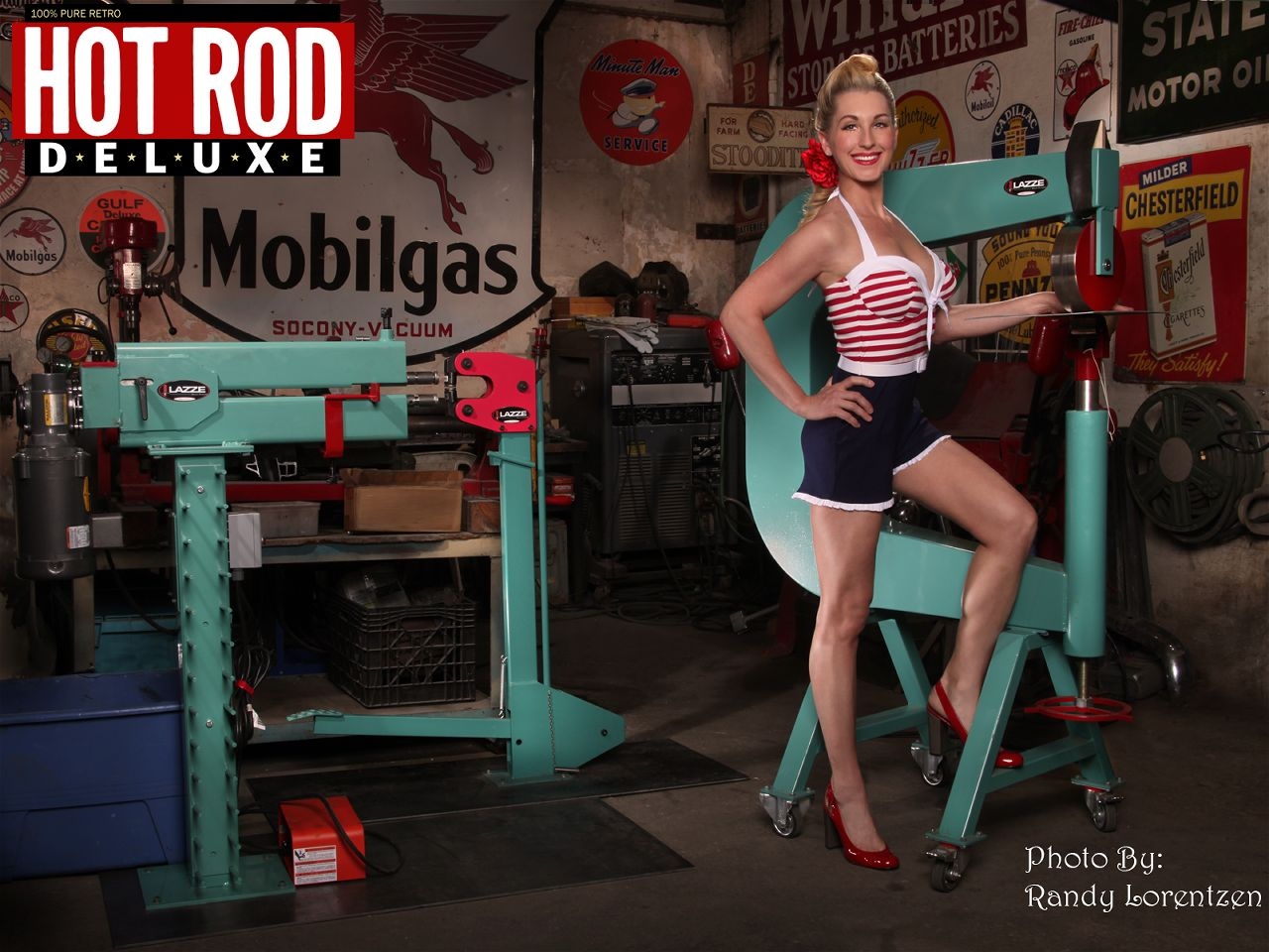 Dois sete cinco hot rod deluxe - Muscle car girl wallpaper ...