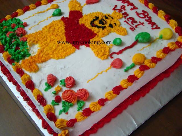 Barney Birthday Cake Recipe