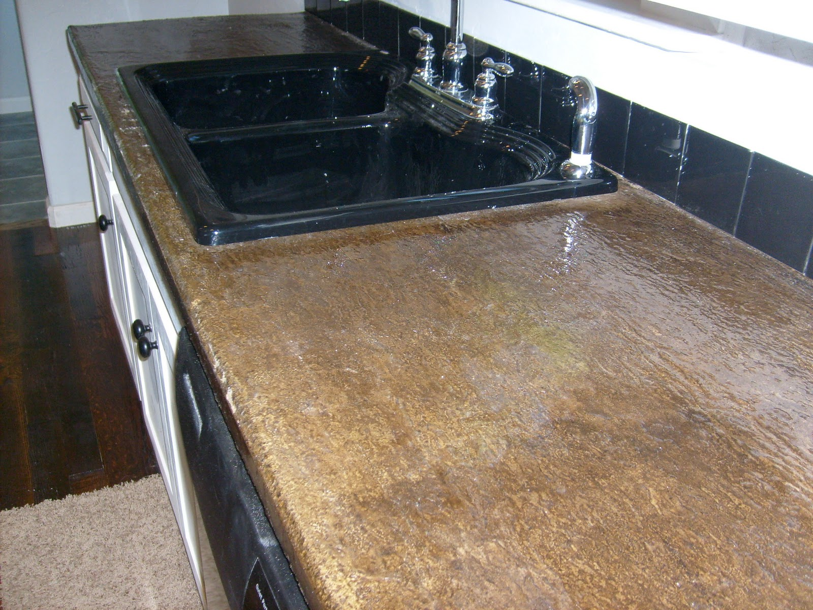 Finished Concrete Countertops Turn Back Creek Construction And Landscape Llc Custom