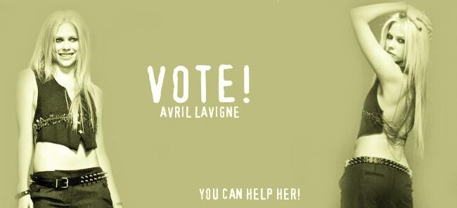 Vote! Avril Lavigne
