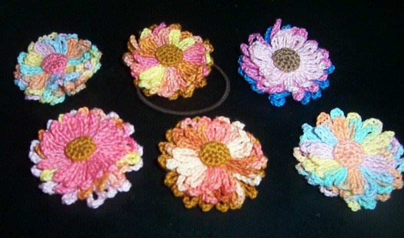 The Handmade Flower Crochet Flower Tutorials And Patterns