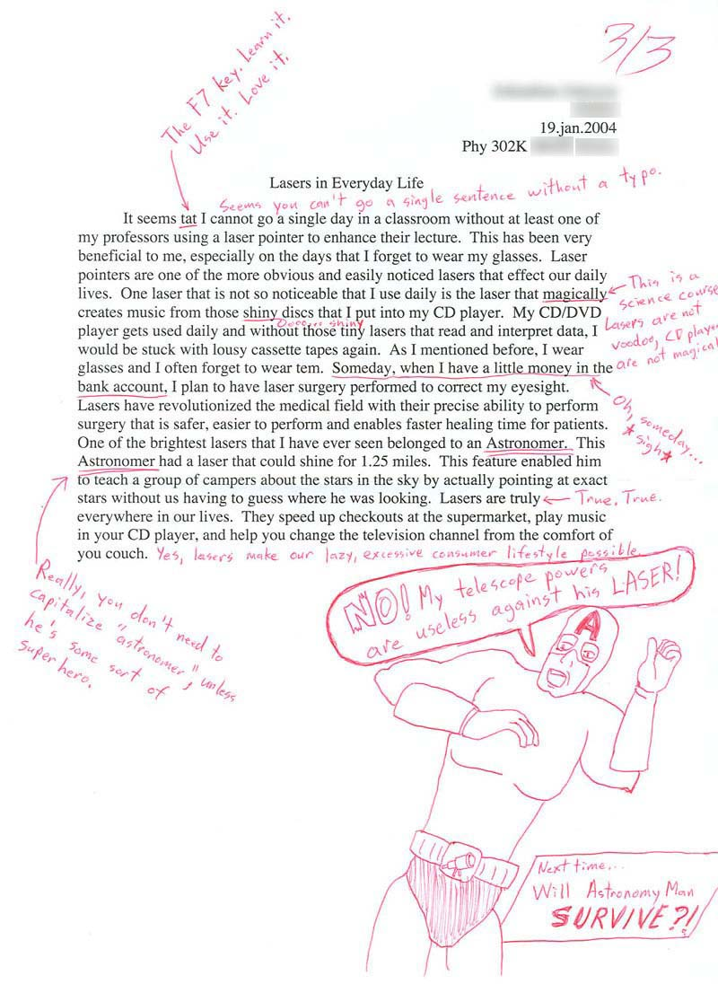 A for and against essay