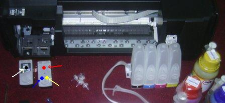 Cara Memasang Infus Printer Canon Ip1980