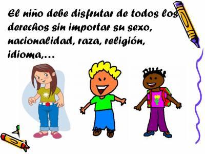 ...Aguanten los Derechos de los NiñoS...