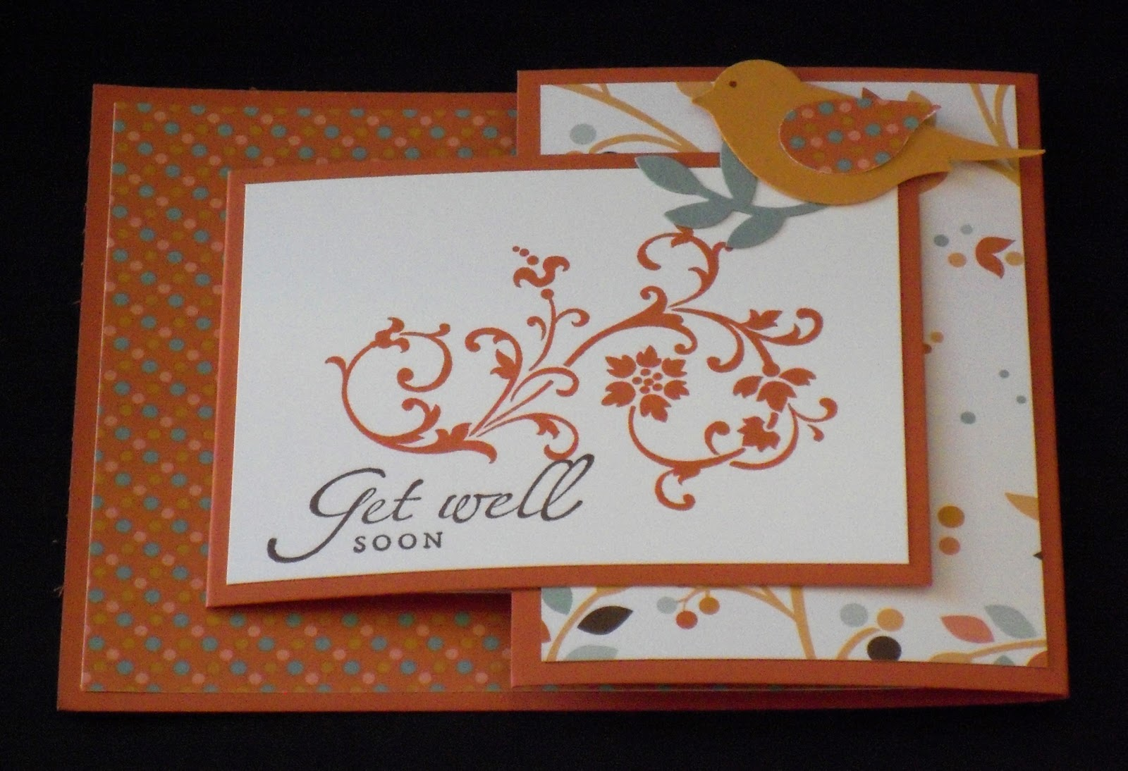 craftsbeth joy fold card
