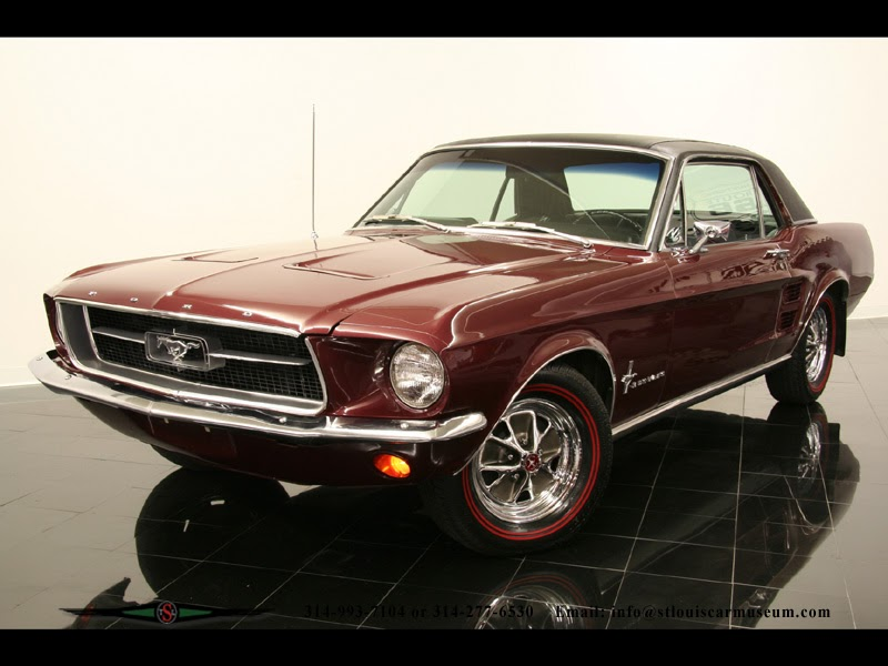 ford mustang coupe 1967 exotic cars. Black Bedroom Furniture Sets. Home Design Ideas