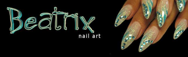 Beatrix nail art