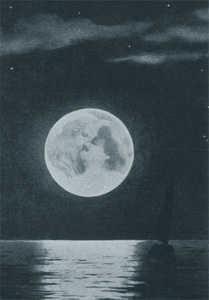 Il bacio nella Luna di Filippo Zamboni