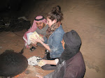 Alyshia Making Bread with the Bedouins in Wadi Rum