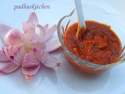 onion pickle-onion thokku