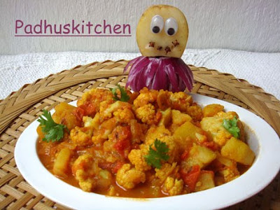 aloo gobi masala-How to make aloo gobi masala