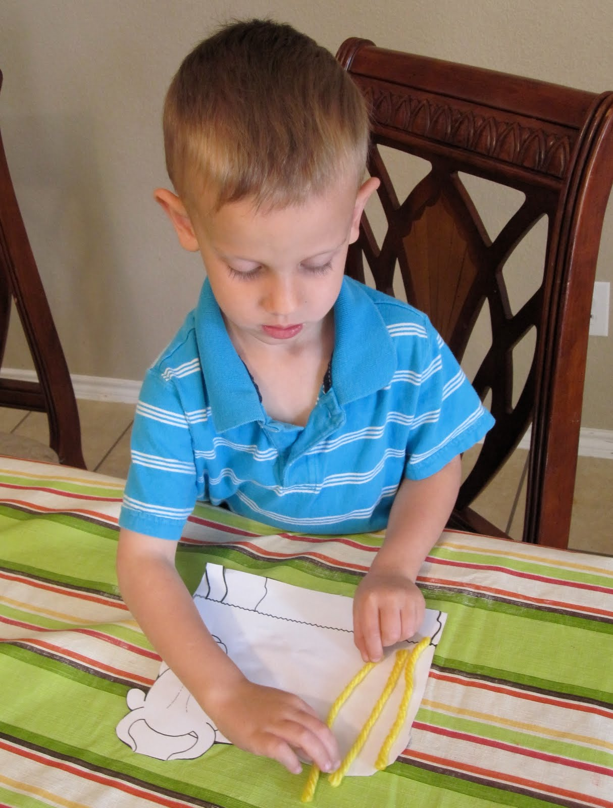 Imagination Express Preschool Y Is For Yellow Yarn Yaks