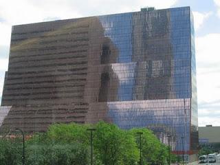 Minneapolis Building Reflection