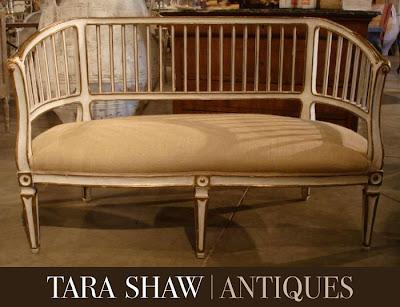 Image via Tara Shaw Antiques, edited by lb for linenandlavender.net